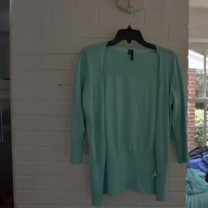 Baby Blue Cardigan (Maurices)